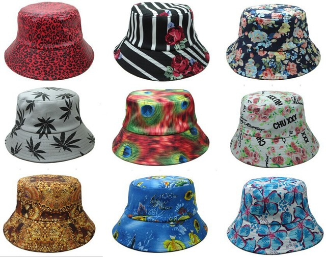 Fisherman Hat Hot new Floral Script FISHER CAPclassic Bucket Hats designer  flower Kangol galaxy camo money sports caps 4cf31e11232