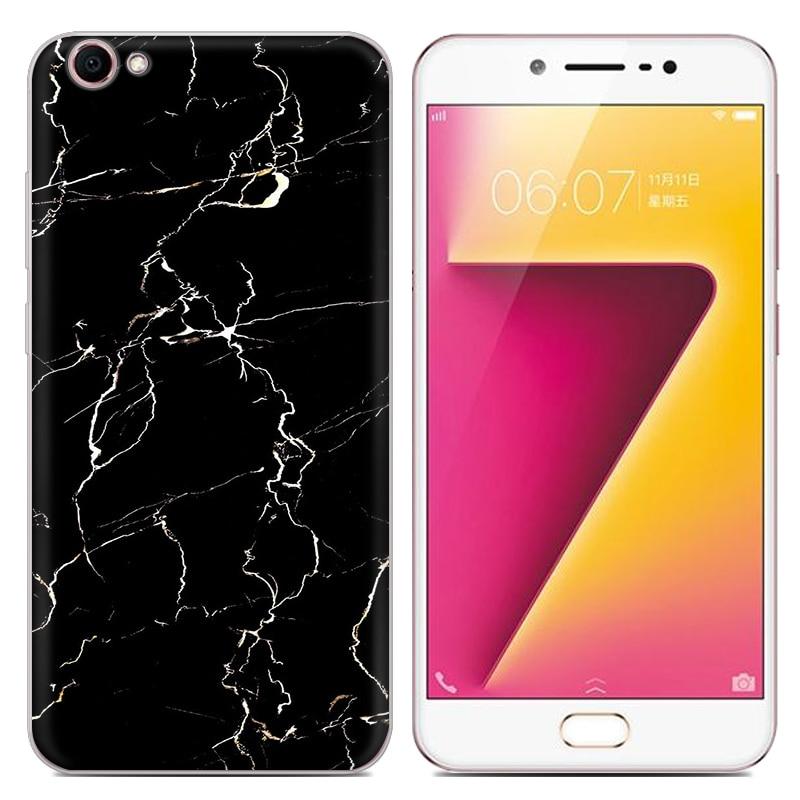 Lulumi Handyhülle für Vivo Y67 5,5-Zoll bunte Marmor lackiert TPU - Handy-Zubehör und Ersatzteile