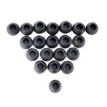 10 Pairs Small Replacement Silicone EARBUD Tips for In Ear Earphone Soft Earpads Ear Cover Cushions Earphones Accessories