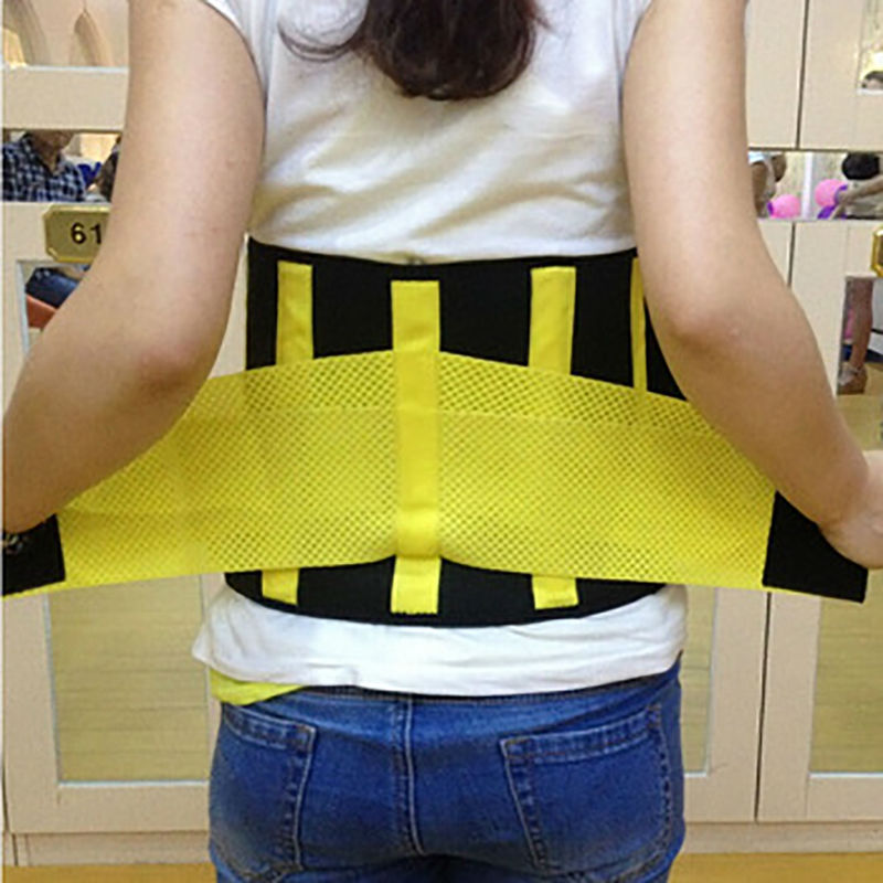 Hot Belt Power Elastic Waist Support Belt Women Men Back Corset Belt Waist Fitness Belt Suporte Yellow Blue Y123
