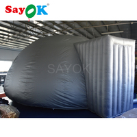 6m Silver inflatable projection dome inflatable planetarium dome tent for sale