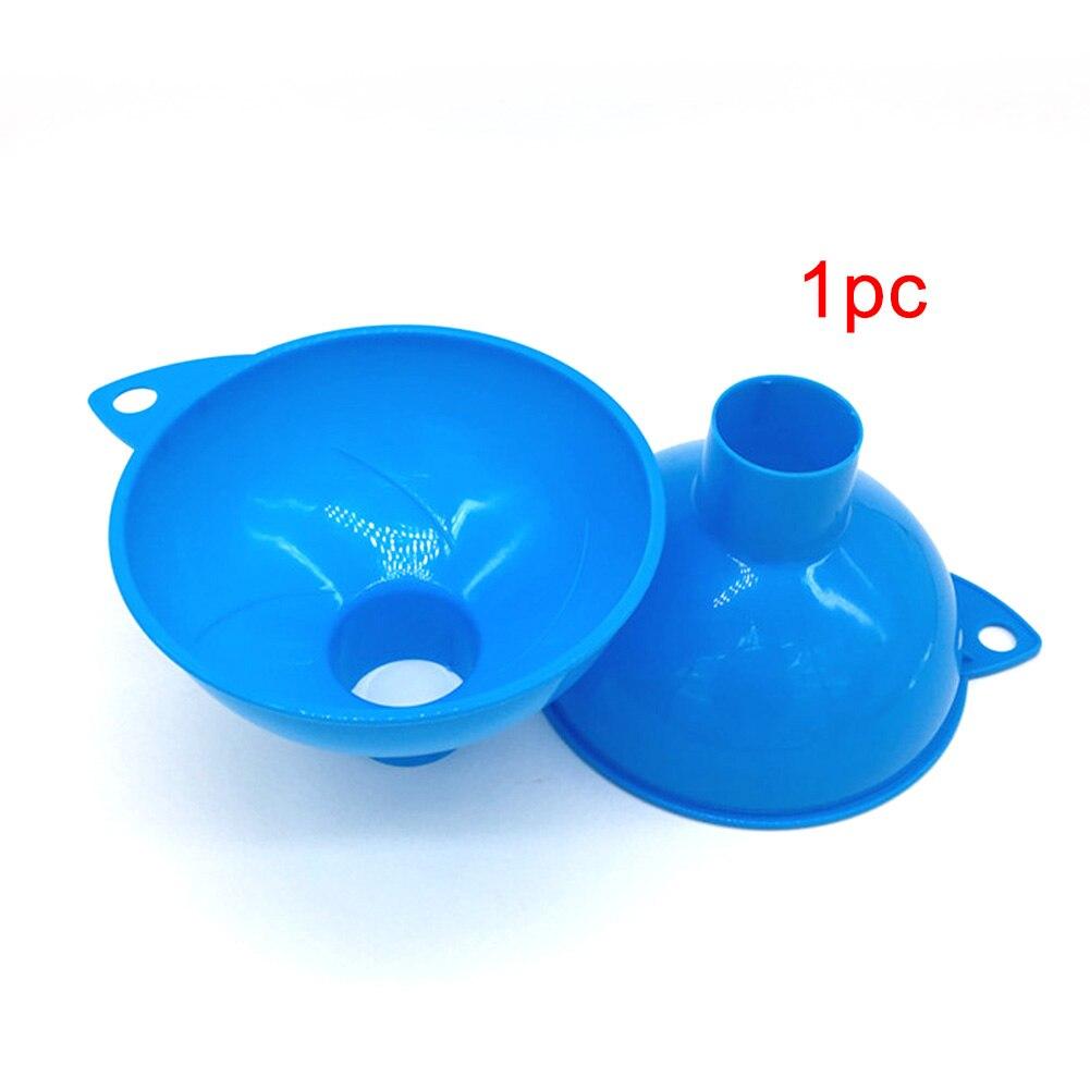 Oil Fuel Home Kitchen Gadgets Wide Mouth Durable Plastic Reusable Funnel Hopper
