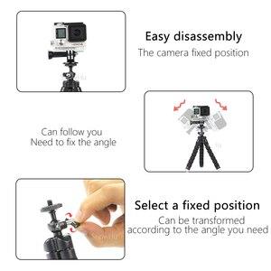 Image 5 - SnowHu Miniฟองน้ำOctopusขาตั้งกล้องสำหรับiPhone Xiaomi Huawei Smartphoneขาตั้งกล้องสำหรับGopro 9 8 7 6อุปกรณ์เสริมphoneLD06
