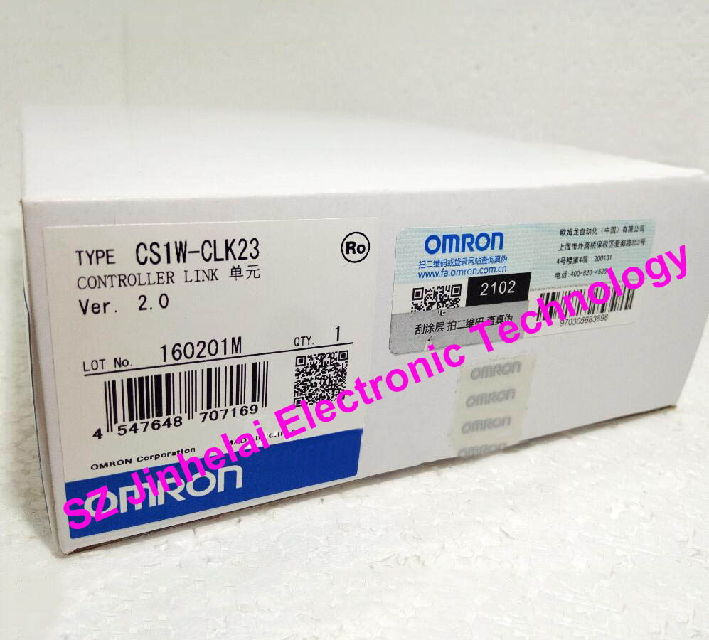 New and original CS1W-CLK23 OMRON Controller Link unit cs1w scu21 v1 serial communication unit