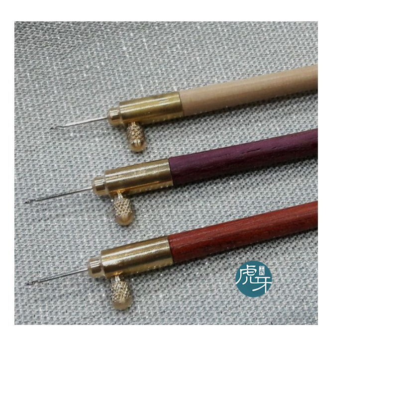 JAPAN Tambour/Luneville Hook With Size Needles 70-80-90-100/110 /Beading Lesage Embroidery Tools Couture Bead Neddle Embroidery