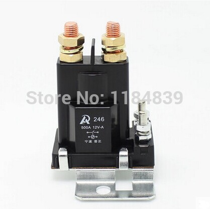 все цены на 500A DC contactor large current relay total power 24V authentic modified car онлайн