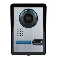 Safurance Wireless Wifi DoorBell Video Camera Viewer NightVision Phone Ring Bell Rainproof Home Security Door Intercom