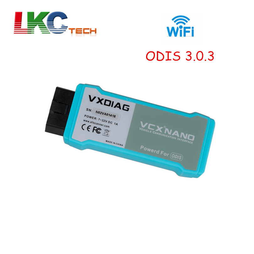 2018 New Arrival VXDIAG 5054a Support Wifi OBD2 Diagnostic Interface ODIS 3.0.3 Better Than VAS5054a Auto Code Reader Scanner