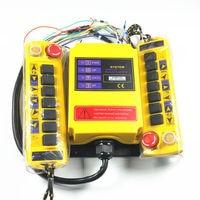 1 Speed 2 transmitter Control Hoist Crane Radio Remote Control System Controller