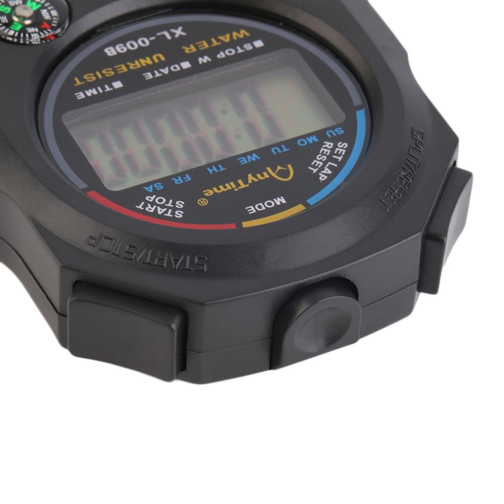 Sport cronometro digitale professionale palmare digitale LCD - Strumenti di misura - Fotografia 6