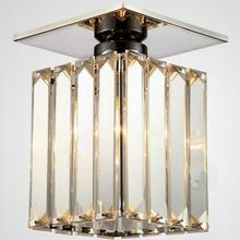 Modern Square Led Crystal Chandelier Light guaranteed Power Home Lamps Chandeliers Lighting Wrought Iron