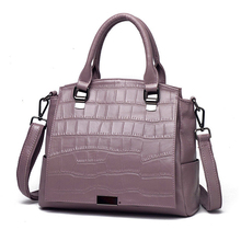Women Bag Genuine Leather Handbag Cowhide Shoulder Messenger Crossbody Crocodile Pattern New