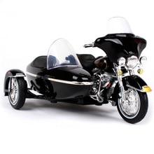 Maisto 1:18 vintage harley motorfiets zijspan diecast voor verzameling 1947 1948 1952 1958 1998 2001 versie auto diecasts volwassene