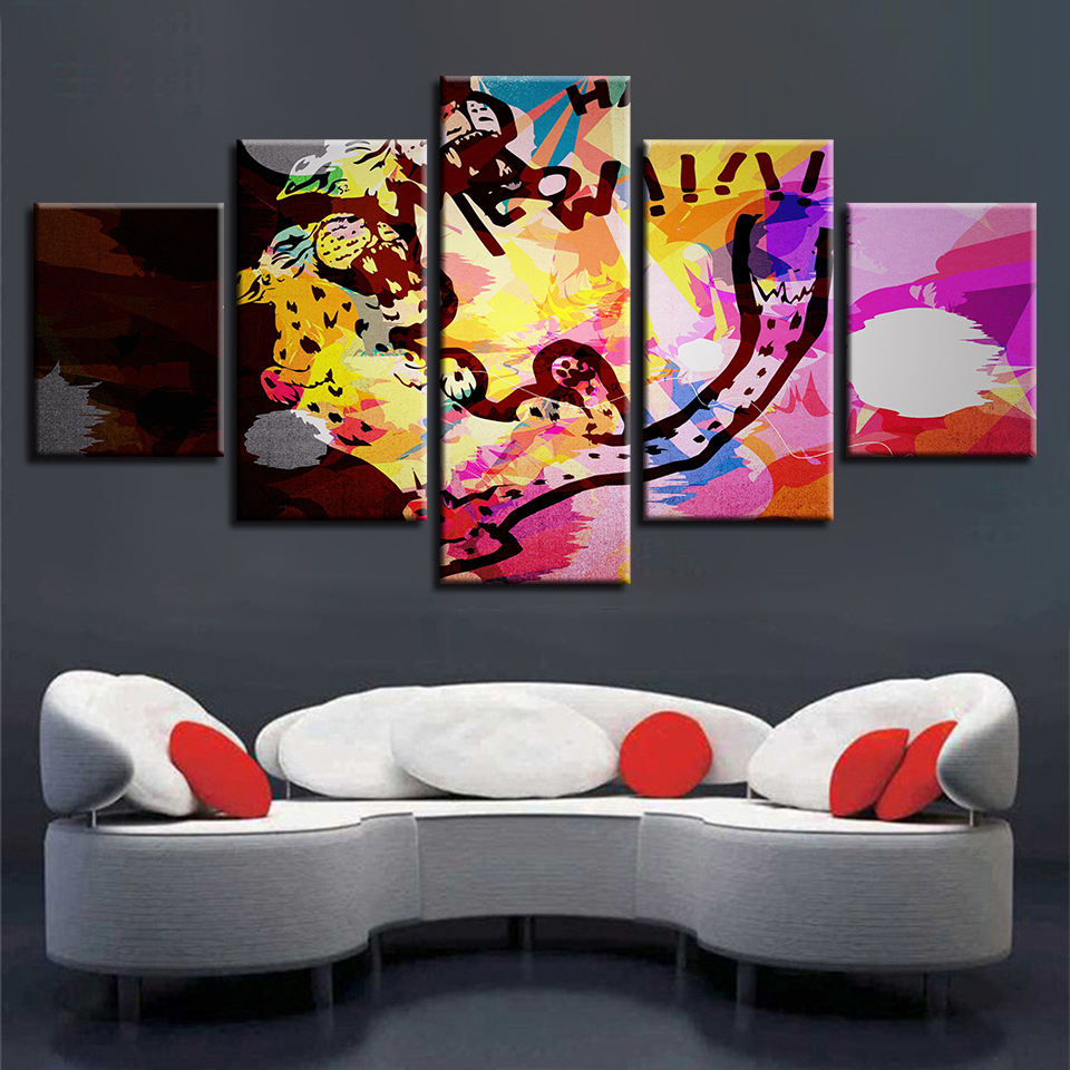 Graffiti Bedroom Art Paint Colors For Bedroom Youth Bedroom Sets Simple Little Boy Bedroom Ideas: Decor Living Room Or Bedroom Wall Frames Paintings 5