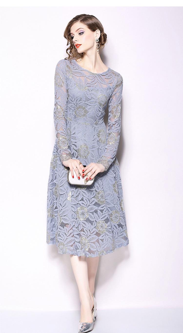 6d7e85c2af6ba 🛒 TESSCARA Women Spring Elegant Lace Dress Festa Female High ...