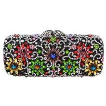 LaiSC champagner clutch abendtasche handtasche luxus kristall frauen kupplung partei taschen damen prom glitter wallet hochzeit pochette SC143