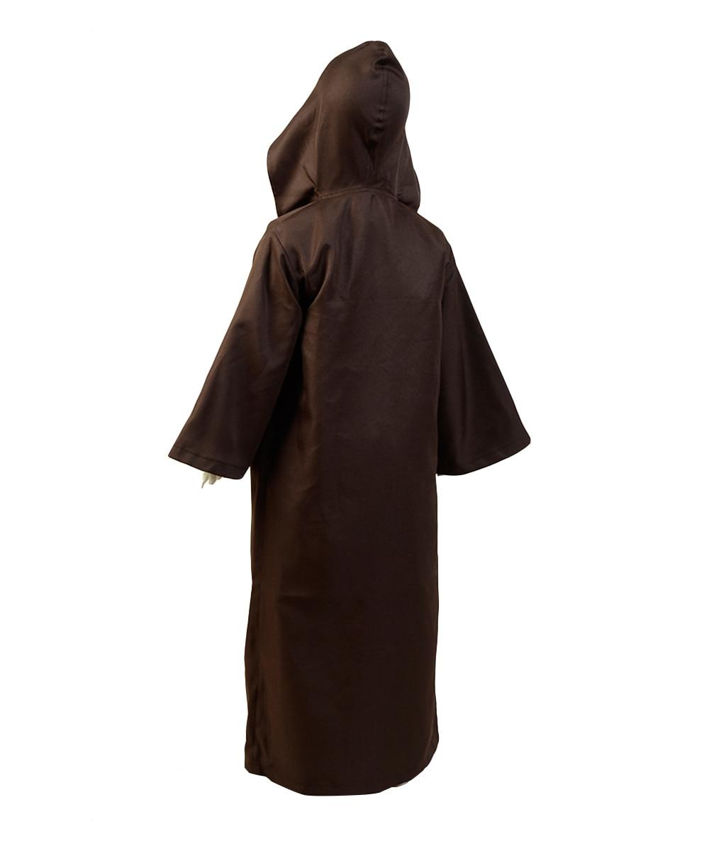 Movie Star Cosplay Kenobi Jedi Cosplay Costume Brown Cloak Robe Child Version Full Suit Uniform    - AliExpress