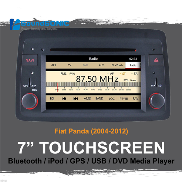 7 Inch Touch Screen Car Stereo