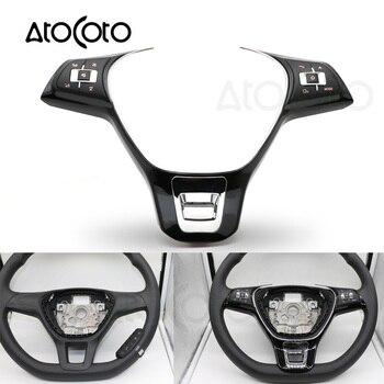Volante del coche inalámbrico remoto Control de botón para VW Jetta Golf Polo Passat Multi-función de controlador de interruptor centros Universal