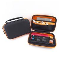 Waterproof Portable External Hard Drive Case With Zipper 2 5 Inch Hard Disk Bag Case Bag