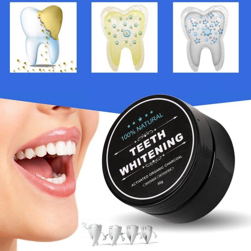 Blanqueamiento de dientes Polvo de carbón de bambú Higiene oral - Higiene oral - foto 3