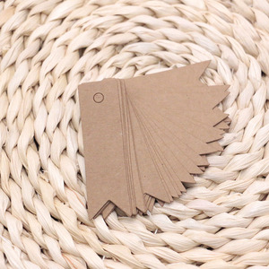 Pretty 200pcs/lot Kraft Paper/White/Black Price Tags for Clothes&Toys 3x5cm 2x7cm Cute Size And Cute Pattern Can Customize Logo