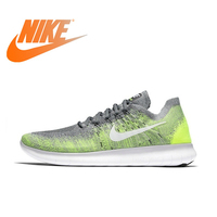 Оригинальная продукция Nike FREE RN FLYKNIT Мужская Спортивная обувь для бега, удобные дышащие износостойкие кроссовки 880843