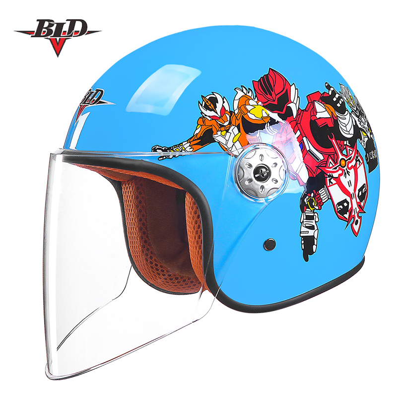 Child Motorcycle Motor Bike Scooter Safety Helmet