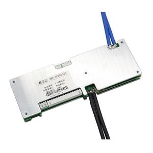 Image 4 - 16S 50A 40A 30A Li ion BMS protection board smart bms Balance Bluetooth app UART bms software (APP) monitor Lipo lithium