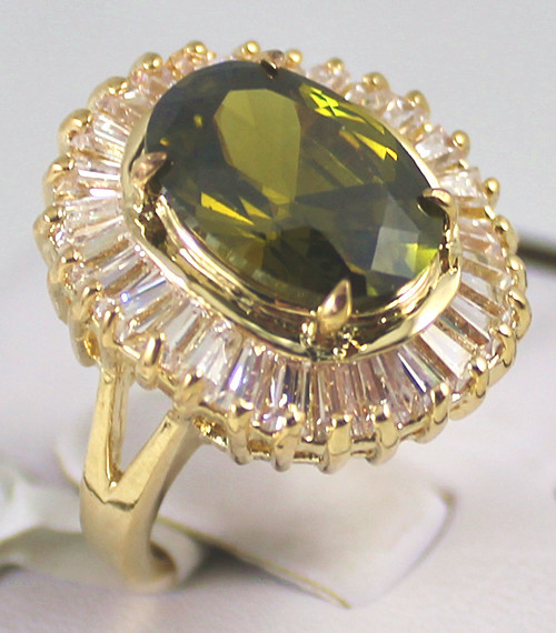 Noble! 7 colour zircon Crystal Blue/purple/Pink/Brown/Red/YellowGreen Jewelry womens Ring