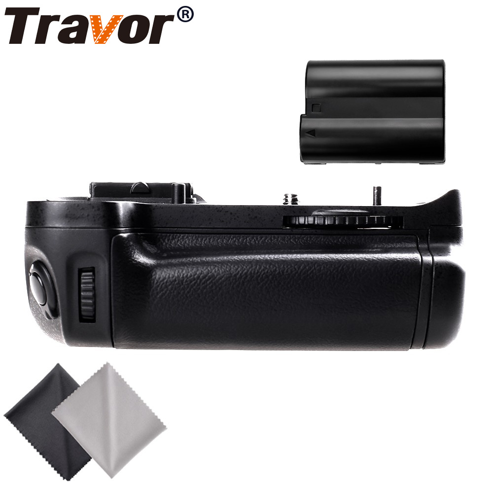 Travor Professional Multi Power Battery Grip for Nikon D7000 DSLR Camera as MB-D11+1PC en-el15 battery+2pcs Lens Cloth