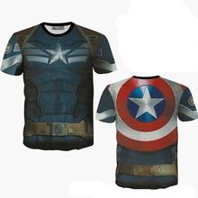 XXL-8XL Plus Größe Captain America t-shirt männer Keuchen Fitness Streewear t-shirt männer (XXL XXXL 4XL 5XL 6XL 7XL 8XL)