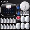 Russia Warehouse Shipping Kerui W2 APP WIFI Wireless Alarm System Wifi GSM PSTN Telephone Landline Home