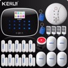 Russia Warehouse Shipping Kerui W2 APP WIFI Wireless Alarm System Wifi GSM PSTN Telephone Landline Home