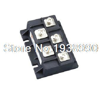 1pcs MDS200A Bridge Rectifier 3-Phase 5 Terminals Diode 200A 1600V 500a three phase bridge rectifier module mds 500 welding type used for input rectifying power supply and so on