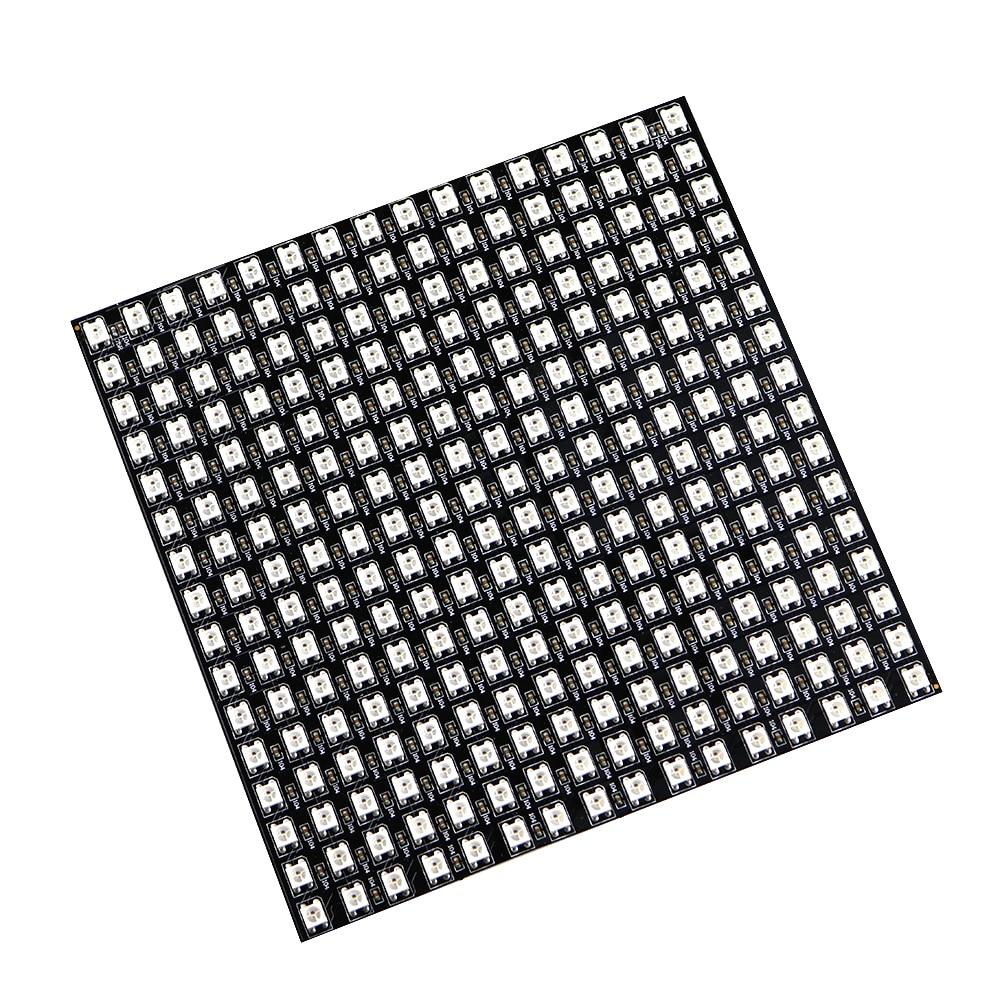 Matrice 16*16 Pixel 256 Pixels WS2812B WS2812 Numérique Flexible LED Panneau Individuellement Adressable 5050 Rvb Rêve Couleur DC5V