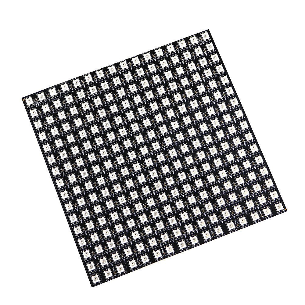Matrix 16*16 Pixel 256 Pixels WS2812B WS2812 Digital Flexible LED Panel Individually Addressable 5050 RGB Full Dream Color DC5V