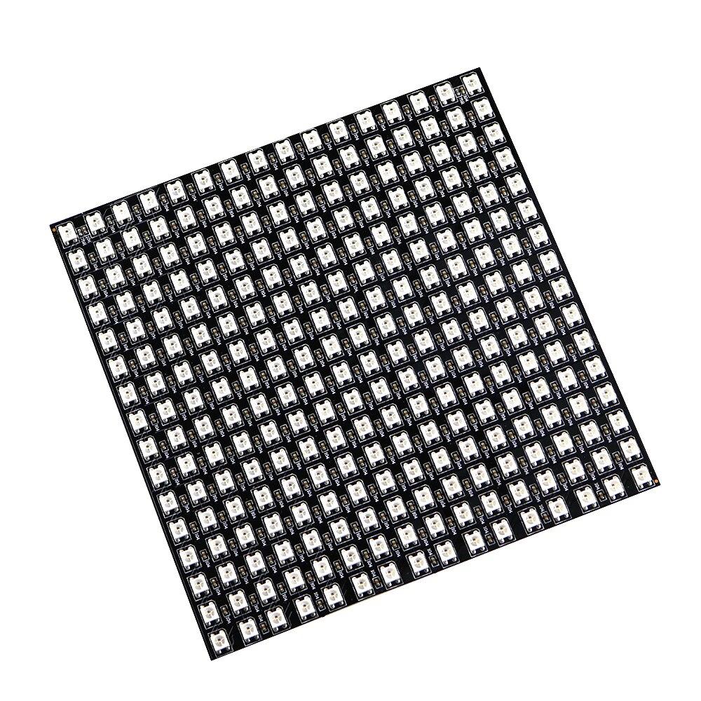 Matrix 16*16 Pixel 256 Pixel WS2812B WS2812 Digital Flexible LED-Panel Einzeln Adressierbaren 5050 Rgb Traumfarbe DC5V
