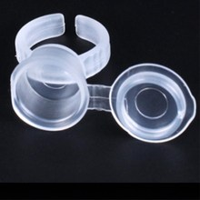 Eyelash Extend Ring Cup Tattoo Pigments Ink Ring Cups Set Tattoo Equipment Pigment Holder Container