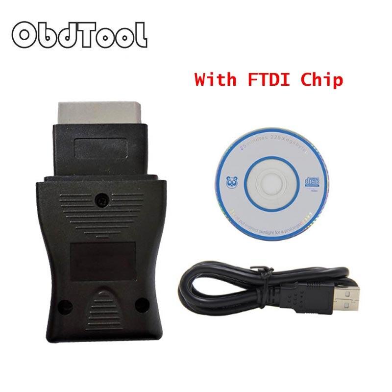 ObdTool Nouvelle Arrivée Pour Nisan Cnsult USB 14pin câble De Diagnostic Interface OBD2 OBDII Scanner usb 14Pin câble Livraison Gratuite LR10