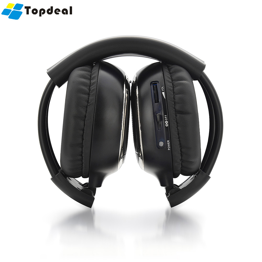 Ir Infrared Wireless Headphones Stereo Car Headset Earphone Dual Transmitter And Receiver Infra Red Headphone Channel Wired With Micphone For Phone Mp3 Pc In From Consumer