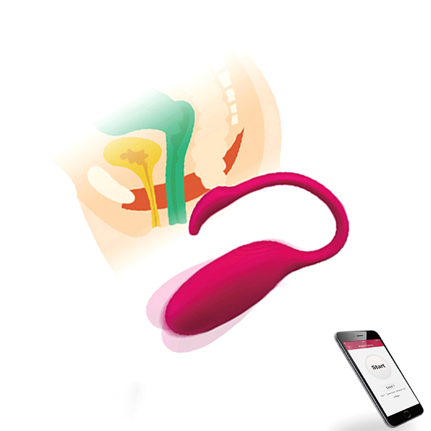 Wireless Phone APP Control Vibrator Magic motion Egg G spot Vagina Tighten Exercise Massager Kegel Balls