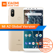 Global Version Xiaomi Mi A2 4GB 32GB 5.99″ 18:9 Full Screen Snapdragon 660 Octa Core AI Dual Camera Smartphone Android One