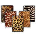 For New Tablet iPad 5 Air PC Hard Case 5 Shapes Leopard Series Cover With Screen Protector For Ipad Air