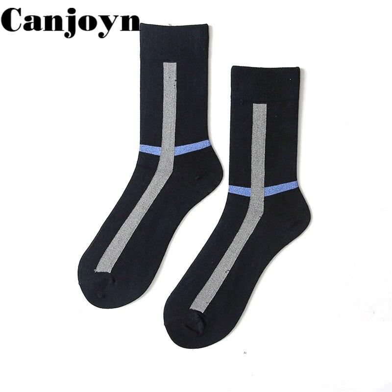 Canjoyn High quality Spring Autumn Winter leisure Cotton socks men Women Funny Happy sock Long socks Wholesale