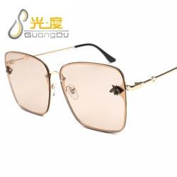 GUANGDU nowe Okulary Cat Eye kobiety óculos metalowe Okulary Przeciws Oneczne Okulary damskie Okulary przeciwsłoneczne UV400 luneta soleil femme 3