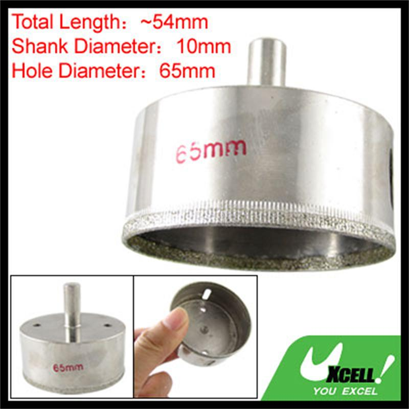 UXCELL 10-110Mm Cutting Diameter Diamond Coated Ceramic Tile Glass Hole Saw Drilling Tool