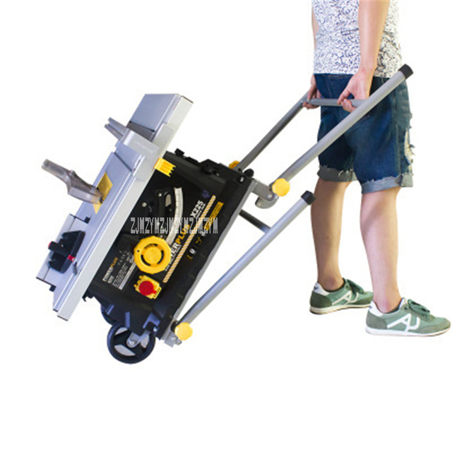 Household 72558E 10 Inch Platform Saw Multifunctional Woodworking Platform Saw 1800W Power Tools Dust - free Saws 220V Hot Sale