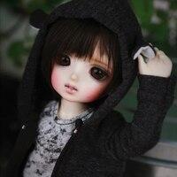 ara limited 1/6 BJD Doll BJD/SD Fashion LOVELY model Resin Joint Doll For Baby Girl Birthday Gift random eyes