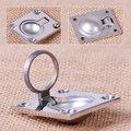 1pc Stainless Steel Ring Handle Flush Hatch Locker Cabinet Pull Lift Boat Marine